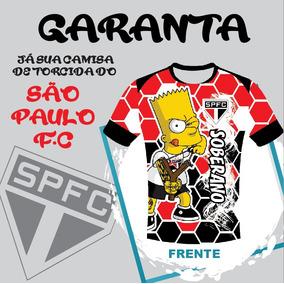 558f73140c901 Camisa Torcida São Paulo  Spfc  Tricolor  Nome Pesonalizada