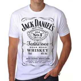9a9bb5c78db6c Camiseta Camisa Blusa Jack Daniels Daniel S