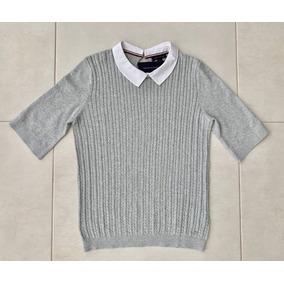 d0cbbfccdae45 Tommy Hilfiger Camiseta Branca Feminina - Calçados