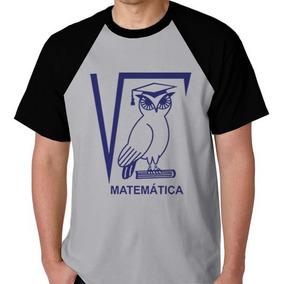 3144ffcbf6dc5 Camiseta Matemática - Camisetas e Blusas no Mercado Livre Brasil