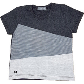 7633923a6 Camiseta Infantil Menino Em Meia Malha Luc Boo