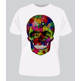 a766ff32f02ae Camiseta Caveira Mexicana - Camisetas Manga Curta no Mercado Livre ...