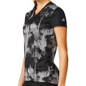 42dbffa13bc0c Camiseta Feminina adidas Response Linha Running Estampada
