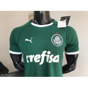 7de31fc27b334 Nova Camisa Palmeiras I 19 20 Oficia Torcedor Masculina Puma