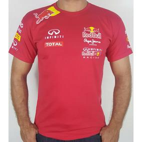 02d6c8c3d3eba Camiseta Red Bull Racing Vermelha Infiniti London