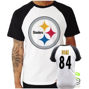 8e4239e7fa14c Camisa Pittsburgh Steelers no Mercado Livre Brasil
