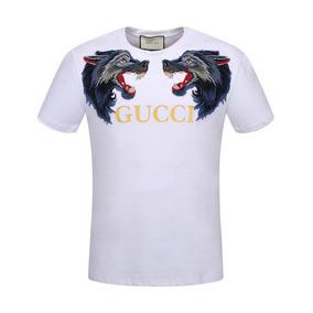 674ccc78eeecf Camisa Gu Camiseta Gu Masculino Mega Promoção. 20 vendidos - São Paulo · Promoção  Camisa Camiseta Gucci Original Lançamento Ft Real !