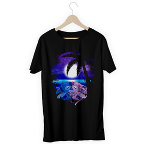 e3250c69573a5 Camisa Camiseta Lilo Stich Namorada Filme Unisex Nova