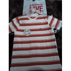 20cc76396212b Camisetas Lacoste Originais Lancamento Direto - Calçados
