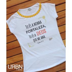 97e57b987 Vetor Frases Evangelicas - Camisetas para Feminino no Mercado Livre ...