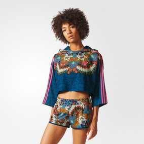 e600d454742 Blusa Adidas Feminina Floral Manga Calor - Calçados