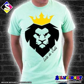 f0baaef70 Camisa Personalizada Gospel - Leão De Judá - Silveirart 22