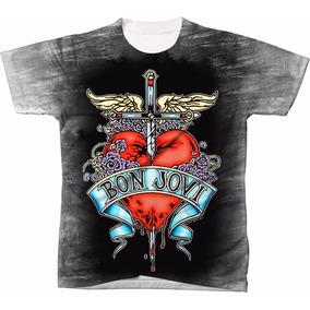 e18303eea Camiseta Bon Jovi - Calçados