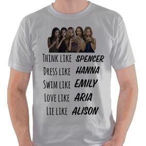 5c746fb8ae31b Camiseta Pretty Little Liars Série Pll Camisa Blusa