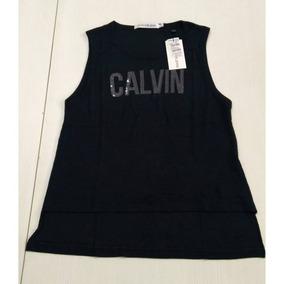41946a4cd83bb Blusas Regatas Calvin Klein 10 Reais - Calçados