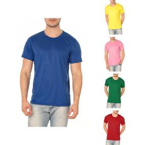 95b07177c2e59 Kit 10 Camiseta Colorida Sublimação 100% Poliéster Atacado