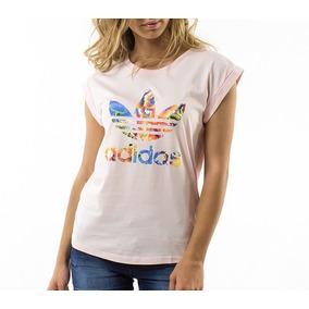 032f1c536c3 Camiseta Feminina adidas Farm Floralita - Original