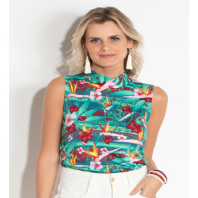 b03b21a7af Blusa Quintess Tamanho M - Blusas para Feminino no Mercado Livre Brasil