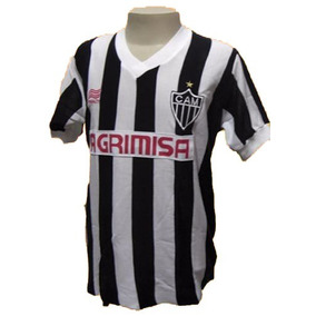 dd80c5cc6 Camisa Retrô Atlético Mg 1986 Agrimisa ( Manga Longa )
