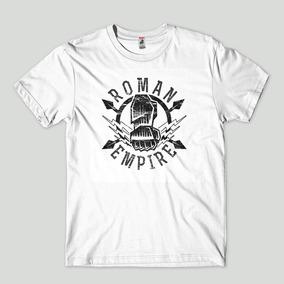 c0de4e904 Roman Reigns Camisa - Camisetas no Mercado Livre Brasil