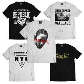 c66aea45ac2e0 Camisa Swag Hip Hop Tyga - Camisetas Manga Curta para Masculino no ...