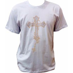 c10ed3553 Cruz Com Strass - Camisetas e Blusas no Mercado Livre Brasil