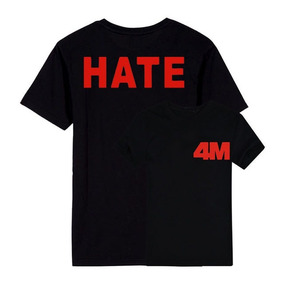 a18f6f6797352 Camiseta Ou Baby Look Camisa K-pop 4minute Hate 4m 4 Minute