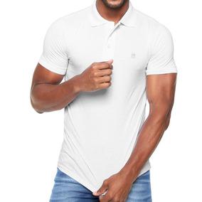 63a4de4e8ee64 Camisa Polo Lisa Tam G Branca Lançamento 2019 Polo Wear Top