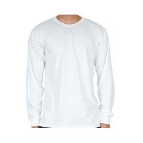 fc6b5a5bd Kit 05 Peças - Camiseta Manga Longa Helanquinha Branco
