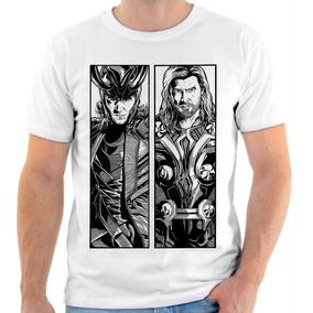05c3294d8 Camiseta Camisa Personalizada Loki Thor Herói Full Hd 02