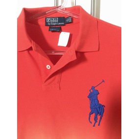 2dde9019be844 Camiseta Polo Ralph Lauren Tri Degrade Big Pony Tam M - Camisetas ...