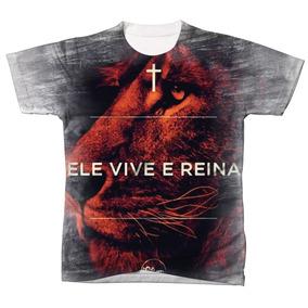 f6d467dd2 Camisa Camiseta Gospel Cristã Deus Evangélica Jesus 085
