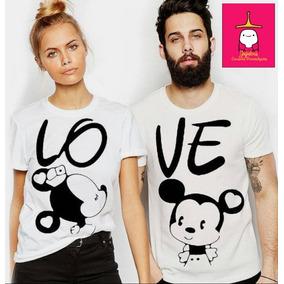 93a674a46eb10 Camisetas Casais Mickey - Calçados