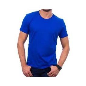 c25aab2b2 Kit 05 Peças - Camiseta Básica Helanquinha Azul Royal