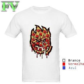 26f772e6a98fc Camisa Camiseta Spitfire Zumbi Pizza Personalizada Top Skate