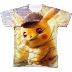 dcc0f845c Camiseta Personalizada Pokemon Pikachu Ash - Camisetas e Blusas para ...