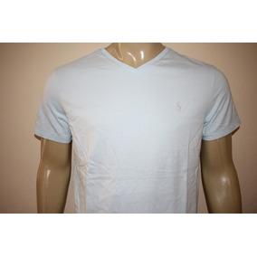 2d75cb8f75069 Camiseta Masculina Gola V Polo Ralph Lauren Diversas Cores