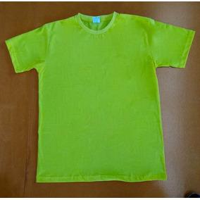9d0356d50c5ea Camiseta Indice Malhas Verde Limão 100% Algodão 30.1