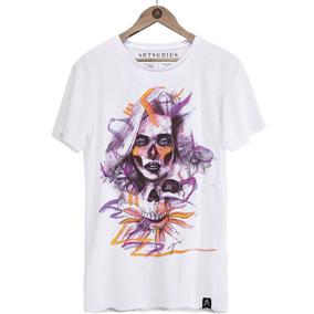 78b9de9d1894f Camiseta Estampa Grafite - Camisetas para Masculino no Mercado Livre Brasil