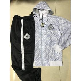 5b3e1bfdad76f Agasalho Conjunto Seleção Alemanha Calça E Blusa Branco