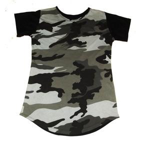 bd39b136235b3 Green Camiseta Long G Style Camuflado Tamanho G - Camisetas Manga ...