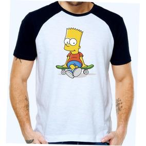 a3898ccd5 Camiseta Personalizada Bart Simpson - Camisetas Manga Curta para ...