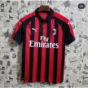 cdc1beca5 Camisa Do Ibrahimovic Milan - Camisetas para Masculino no Mercado ...