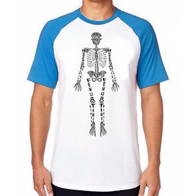 233af7370 Camiseta Esqueleto Humano (raio X) no Mercado Livre Brasil