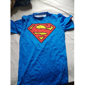 ddb1707c6aa9e Camiseta Compressao Under Armour Superman