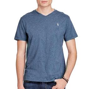 848ea86df6367 Camiseta Masculina Ralph Lauren - Gola V - Tam  Xl Ou Gg P3