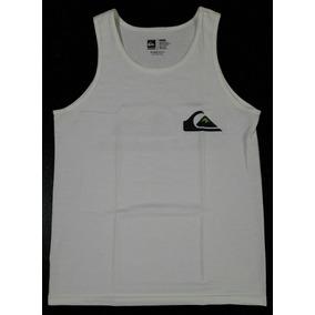 0a11d7294ff30 Camiseta Regata Quiksilver Original Importada Branca