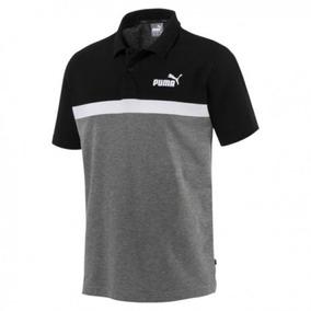 0b2190815 Camisa Puma Polo Essentials Stripe 852423-03