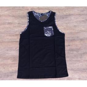 6de9b27709fd8 Camiseta Regata Mcd Skull Flower Invert - Com Bolso Especial