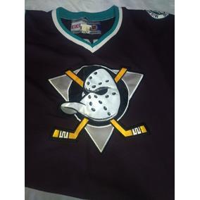 f9679acb8 camiseta hockey Jersey rara Anaheim Ducks  39 Oficial Ccm